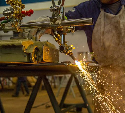 Lavorazione e saldatura del ferro